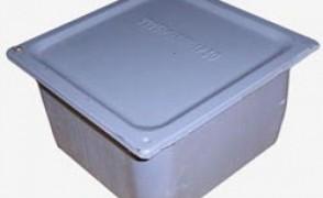 Коробка протяж.У994 б/уплотнения цинк