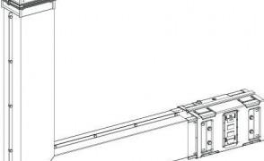 Секция горизонтальная левая У 5046 У3