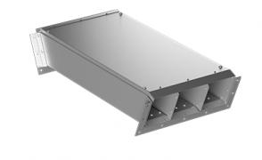 ККБ -2УНП 0,2/0,5 Короб кабельный блочный угловой вертикальный вниз S=2,0 мм